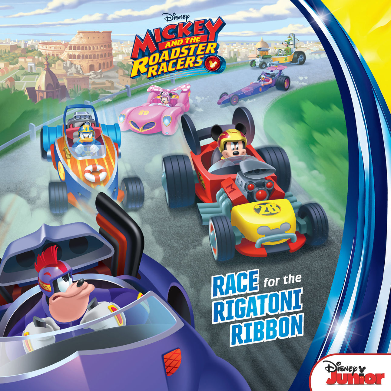 Mickey and the Roadster Racers Race for the Rigatoni Ribbon Paperback