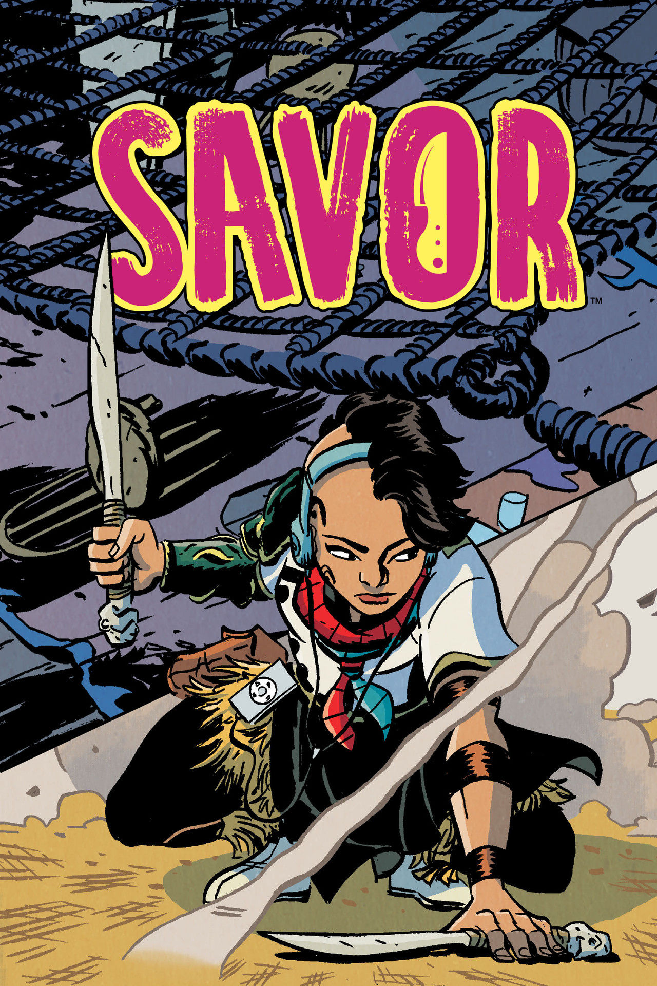 Savor TPB (from Dark Horse Comics) Is A Delicious Adventure 1