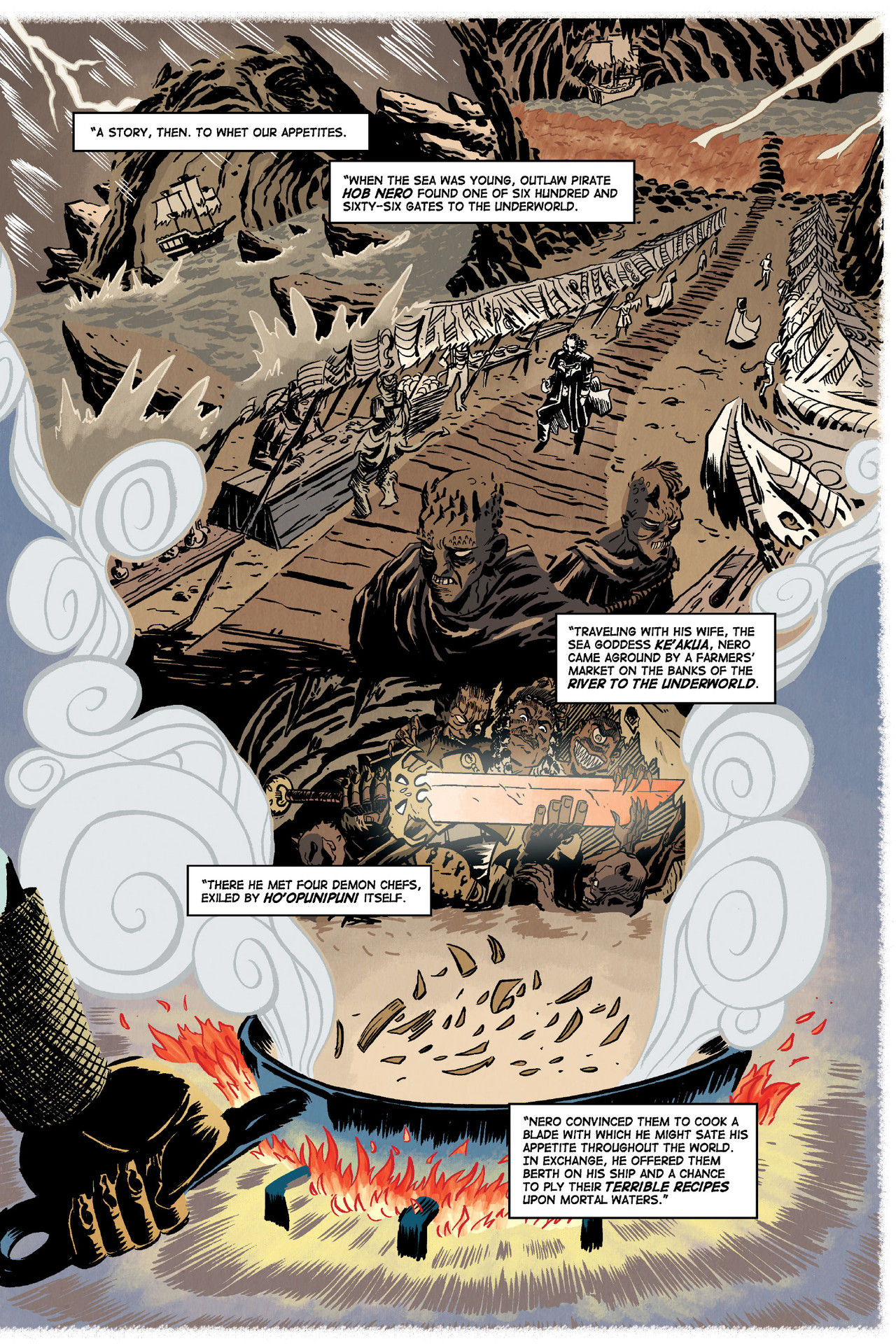 Savor TPB (from Dark Horse Comics) Is A Delicious Adventure 2